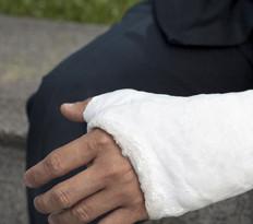 Personal injury hand